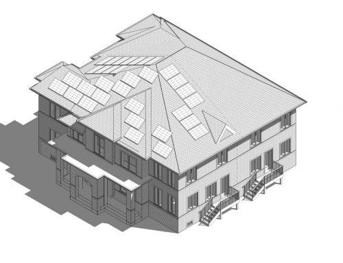 Rooftop Solar Panel, Hamman Way, Milton
